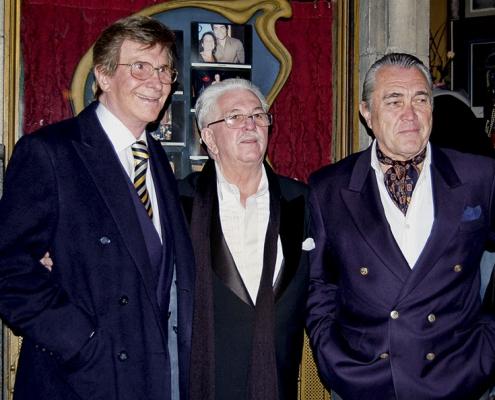 Ricardo Montesino, Silvio Soldán y Pancho Figueroa