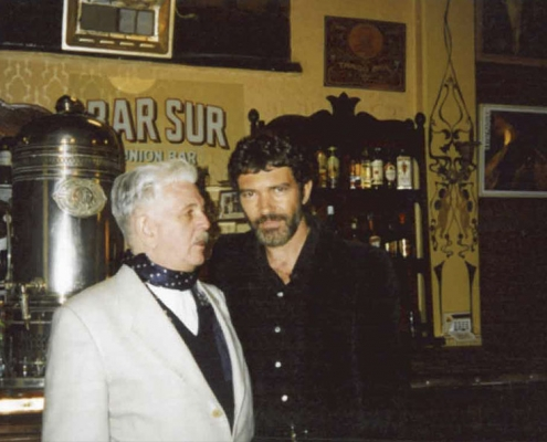 Ricardo Montesino and Antonio Banderas