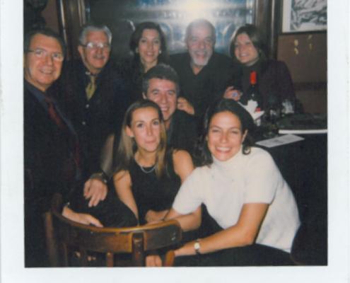 Paulo Coelho and amigos