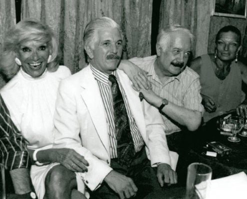 Diana Ingro, Marco Denevi and Ricardo Montesino