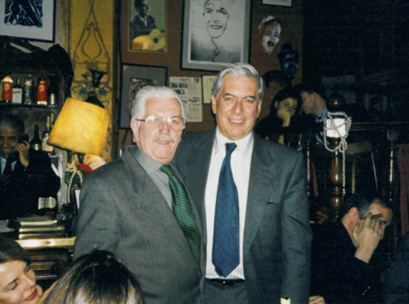 Ricardo Montesino and Mario Vargas Llosa
