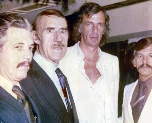 Ricardo Montesino, Eduardo Rivero, Cesar L. Menotti and Luis Montesino